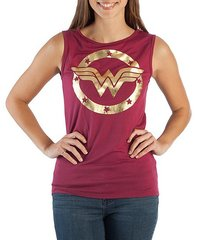 DC Comics: Wonder Woman Logo - Tank Top (Large)