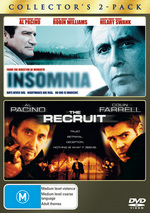 Insomnia / The Recruit - Collector's 2-Pack (2 Disc Set) on DVD