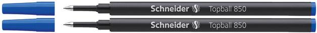 Schneider: Topball 850 Rollerball Refill - Blue (2 Pack)