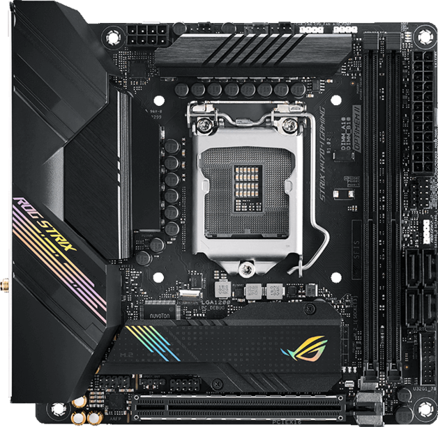 ASUS ROG Strix H470-I Gaming ITX Motherboard