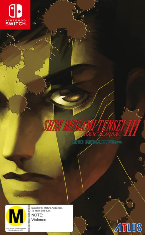 Shin Megami Tensei III: Nocturne HD Remaster for Switch