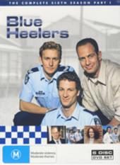 Blue Heelers - Season 6 Part 1 (6 Disc) on DVD