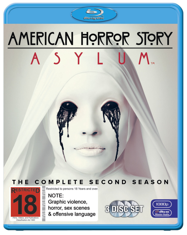 American Horror Story: Asylum - The Complete Second Season on Blu-ray