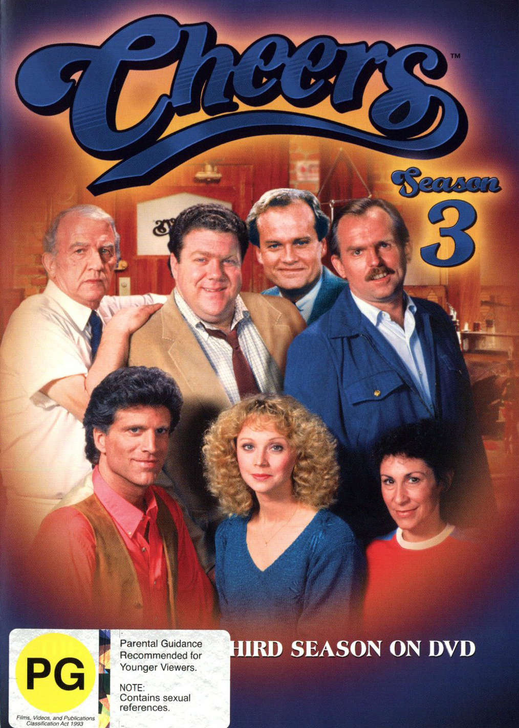 Cheers - Complete Season 3 on DVD image