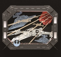 Star Wars: Paper Theater - Scene Type X-Wing Starfighter