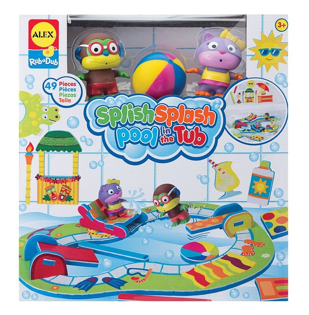 Alex: Rub a Dub - Splish Splash Pool in the Tub