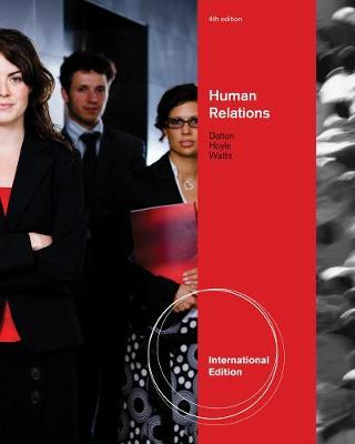 Human Relations, International Edition by Dawn Hoyle image