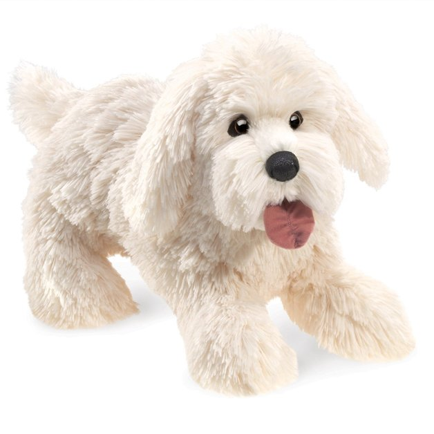 Folkmanis Hand Puppet - Panting Dog