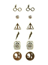 Harry Potter 5 Pack Earring Set