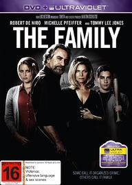The Family on DVD image