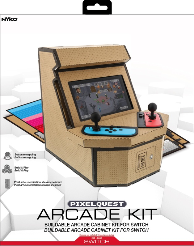 Nyko PixelQuest Arcade Kit for Nintendo Switch for Switch