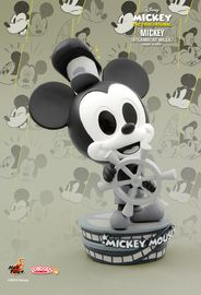 Mickey Mouse (90th Anniversary): Steam-Boat Mickey - Cosbaby Figure