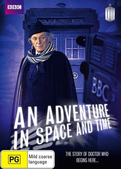Doctor Who: An Adventure in Space and Time on DVD