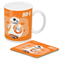 Star Wars BB-8 Mug And Coaster Gift Pack