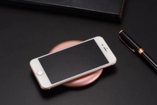 Ultra-thin wireless charger - Pink image