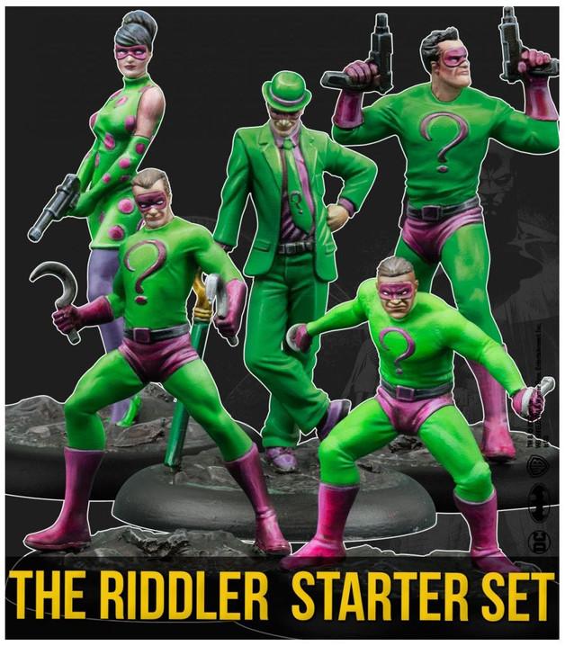 Batman: Miniatures Game - The Riddler Starter Set