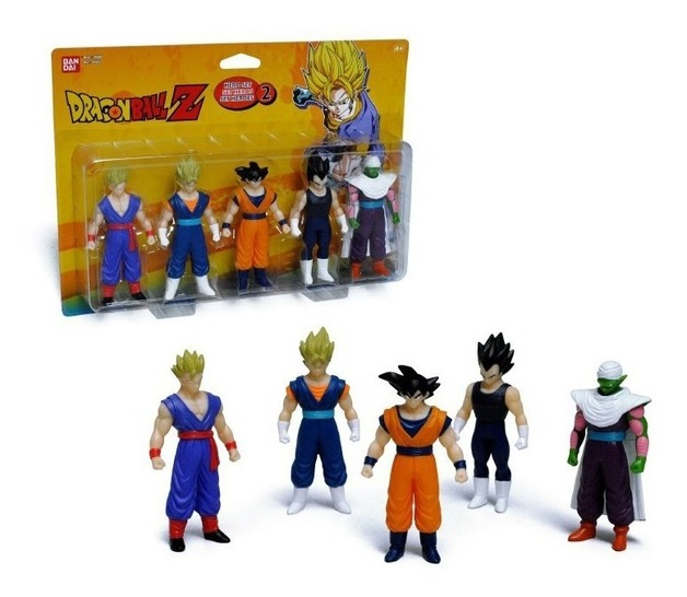 Dragon Ball: Hero Set 2 - Soft Figure