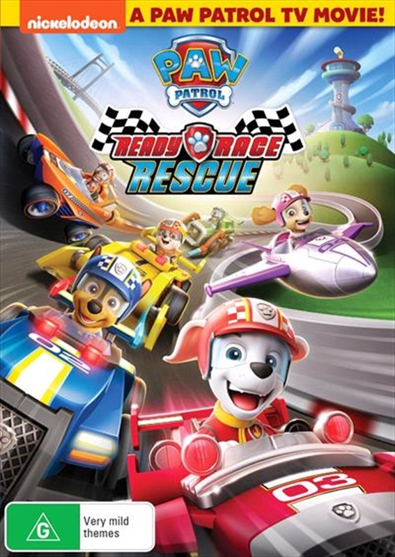 Paw Patrol: Ready, Race, Rescue on DVD