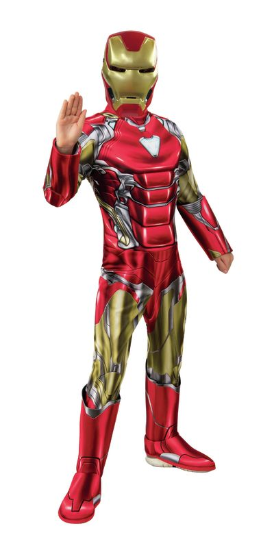 Marvel: Deluxe Iron Man (Avengers: Endgame) - Kids Costume (Small)