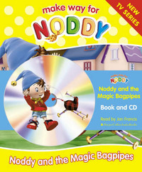 Noddy and the Magic Bagpipes: Complete & Unabridged by Enid Blyton image