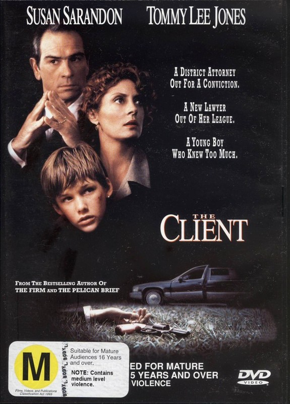 The Client on DVD