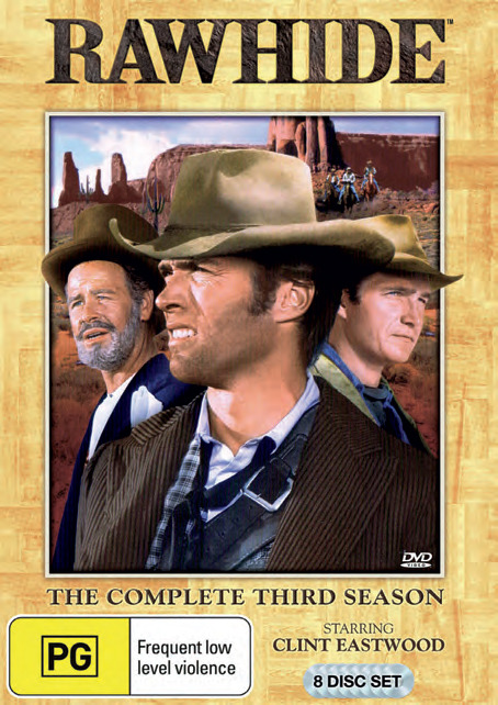 Rawhide - The Complete 3rd Season (8 Disc Set) on DVD