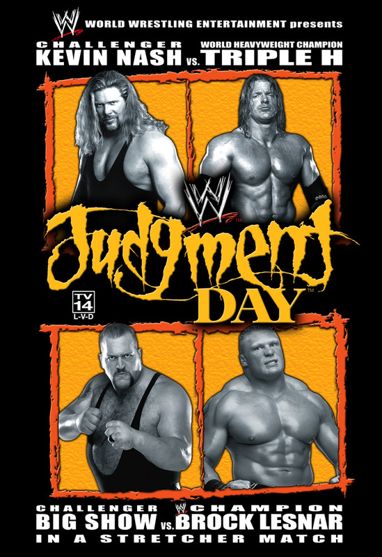 WWE - Judgment Day 2003 on DVD