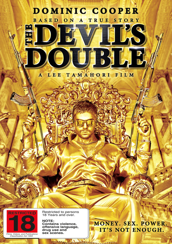 The Devil's Double on DVD