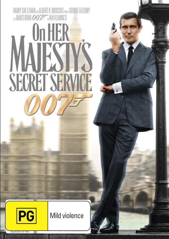 On Her Majesty's Secret Service (2012 Version) on DVD