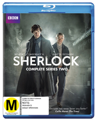 Sherlock - The Complete Second Season on Blu-ray
