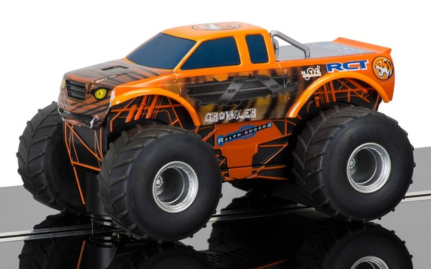 Scalextric Team Growler Monster Truck Slot Car