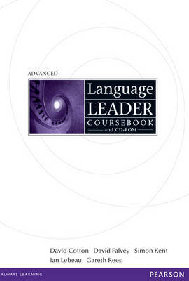 Language Leader Advanced Coursebook and CD Rom Pack by David Cotton image