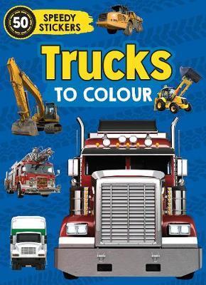 Trucks to Colour by Parragon Books Ltd image
