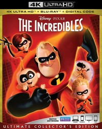 The Incredibles on UHD Blu-ray