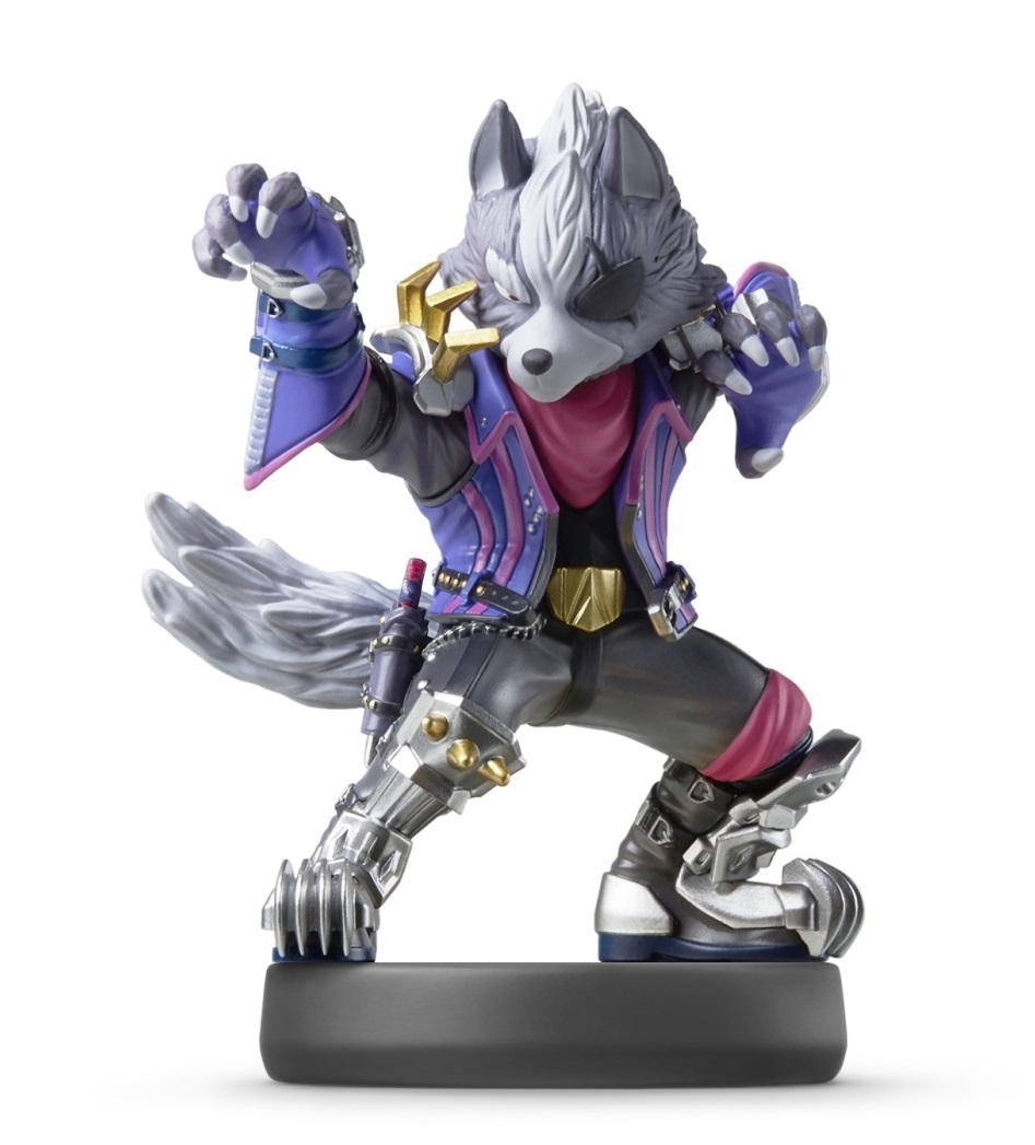 Nintendo Amiibo Wolf - Super Smash Bros Ultimate for  image