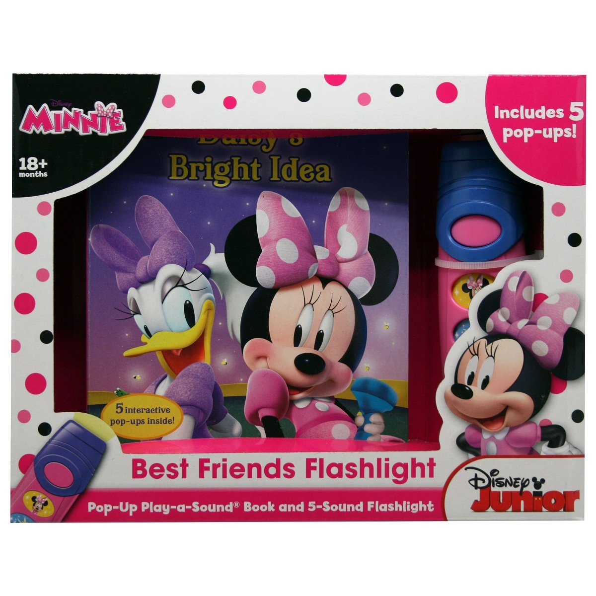 Disney Minnie Mouse – Board Book and Flashlight Set image