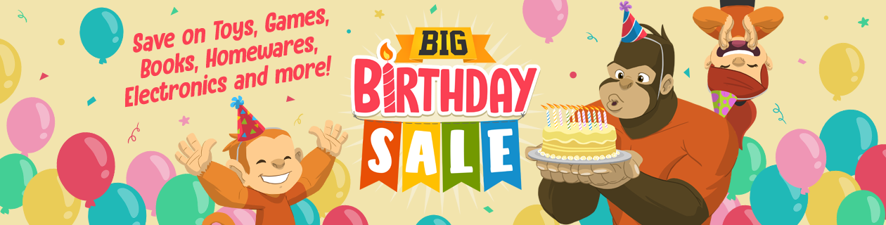 BIG Birthday Sale on NOW!