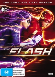 The Flash - Season 5 on DVD
