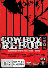 Cowboy Bebop Remix - Vol 1 on DVD