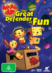 Rolie Polie Olie - The Great Defender Of Fun on DVD