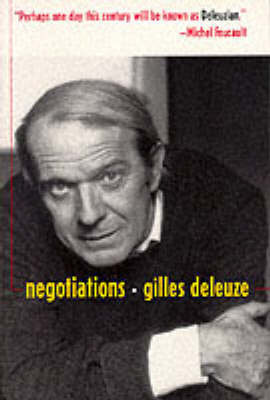 Negotiations by Gilles Deleuze