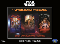 Star Wars: Saga - Don't Underestimate the Force (1000 piece Puzzle) image