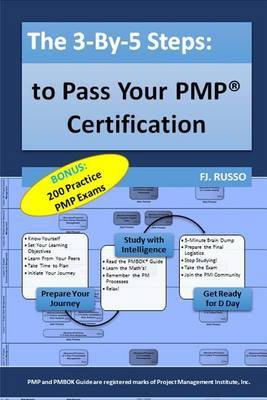 The 3-By-5 Steps: To Pass Your Pmp Certification by Fj Russo