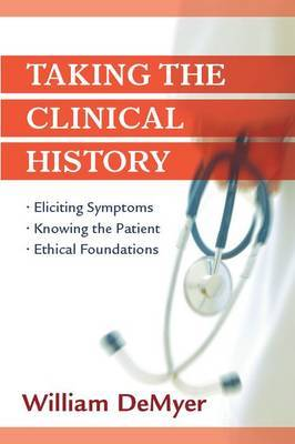 Taking the Clinical History by William Demeyer image