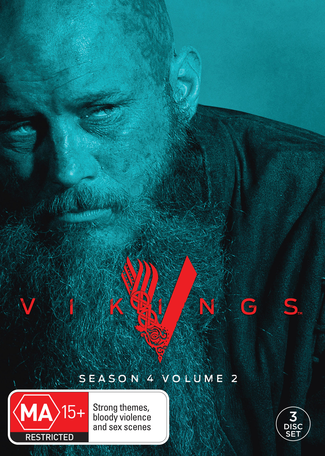 Vikings: Season 4 - Volume 2 on DVD image