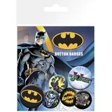 DC Comics Pin Badges (Batman & Joker, 6-Pack)