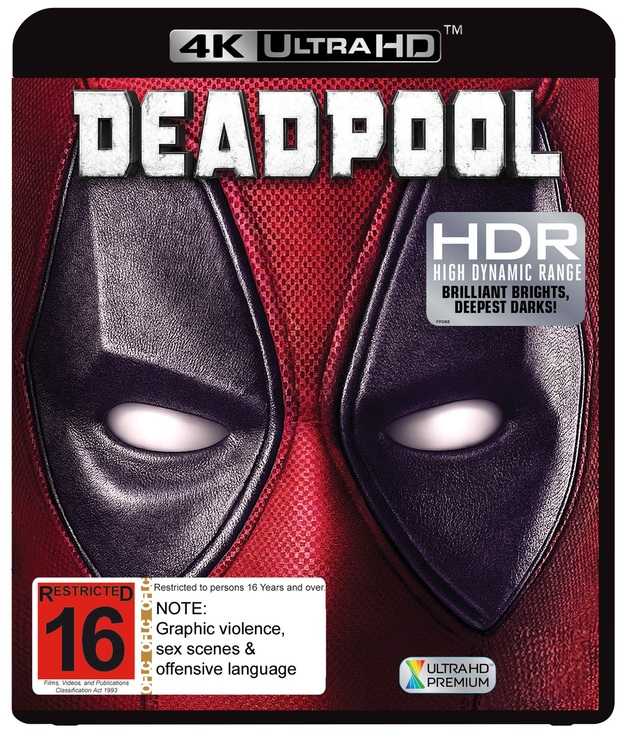 Deadpool on UHD Blu-ray