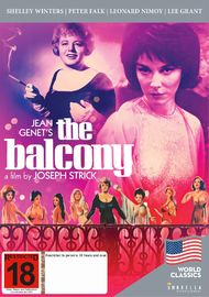 The Balcony on DVD