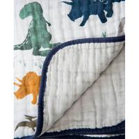 Little Unicorn - Cotton Muslin Quilt - Dino Friends image