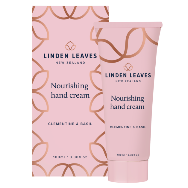 Linden Leaves: Hand Cream - Clementine & Basil (100ml)